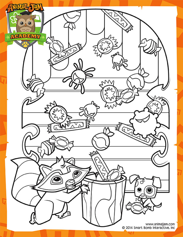 Summer Carnival Coloring Page Animal Jam Academyrhacademyanimaljam: Animal Jam Coloring Pages To Print At Baymontmadison.com