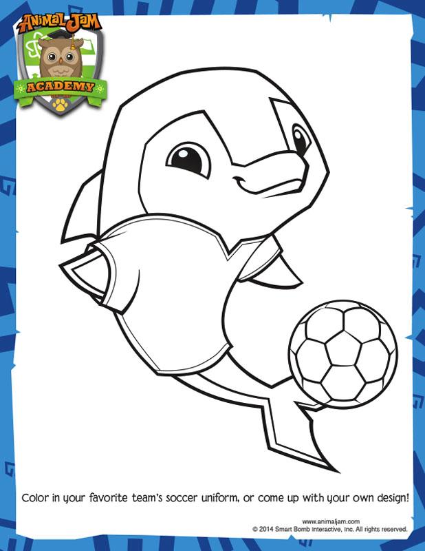 Design A Soccer Jersey Animal Jam Academy
